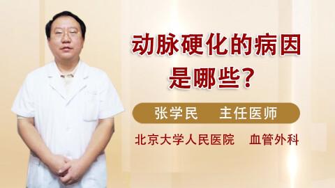动脉硬化病因是哪些